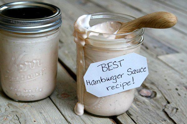 Secret Hamburger Sauce