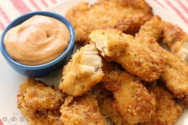 Chicken Fried Fingers and Nuggets