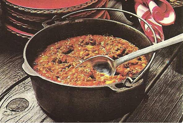 Chuck Wagon Beef and Beans