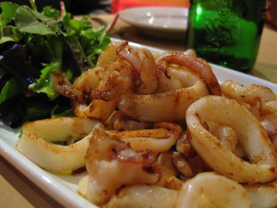 Cajun Grilled Calamari