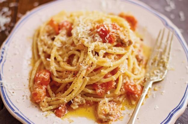Tomato Carbonara Sauce