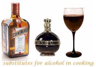 Alcohol Cooking Substitutions